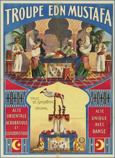 Vintage Circus Poster. jamaica byles: Vintage Circus Posters