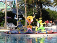 Pool at Disney All Star Music Resort