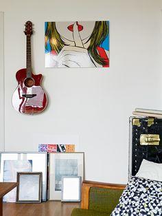 L'appartement vintage au frigo rouge | PLANETE DECO a homes world