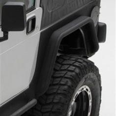Exceptional Smittybilt Black Jeep YJ XRC Rear Corner Guards