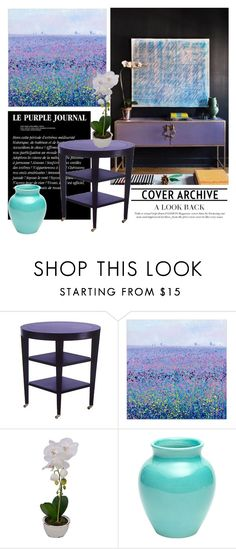 """""""Le purple journal"""" by pamela-802 ❤ liked on Polyvore featuring interior, interiors, interior design, home, home decor, interior decorating, purple and Home"""