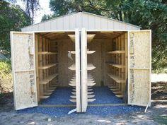 Lumber Storage Rack, Lumber Rack, Lumber Mill, Wood Mill, Wood Rack, Solar Kiln, Shop Storage, Storage Cart, Shop Organization