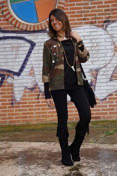 ethnic army jacket
