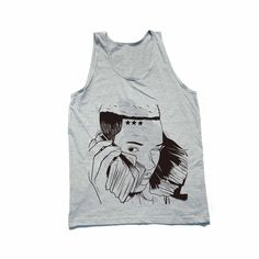 Fetty Wap Heather Grey Tank // Babes & Gents // http://babesngents.com/collections/graphic-shirts // #babesngents