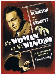 The Woman in the Window, 1944