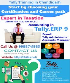 tally with accounting concept Tally education is the largest certifying organization for computerized accounting designation: technical lead function/group: tepl candidate must have a minimum qualification of bachelor's degree with accountancy and commerce background (bcom or bbm) and with an average of 60.