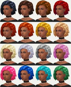 "kotcatmeow:  "" A new hairstyle 'Breona' for your female sims!  I hope you enjoy it! C:  Credits: EA for the mesh and textures.  Made with Sims4 Studio.  • Base Game Compatible  • Hat Compatible  • Custom Thumbnail  • 16 EA Colors  • Teen - Elder  • PLEASE READ..."