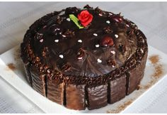 Rich Black Forest Cake. - Real Recipes from Mums