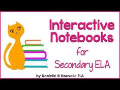 Interactive Notebooks for High School - Nouvelle ELA Teaching Resources