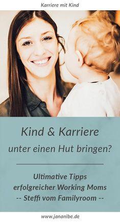Vereinbarkeit von Familie und Beruf. Interview mit Working Mom Steffi vom Familyroom in München.