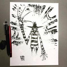 Skottie Young Skottie Young, The Jersey Devil, American Horror Story Freak, Young Art, Geek Games, Nightmare On Elm Street, Freddy Krueger, Scottie, Cartoon Drawings