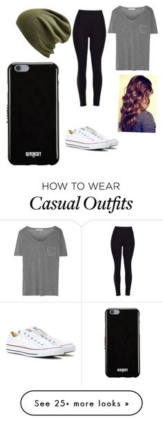 """Casual"" by ellundgren on Polyvore featuring Echo, T By Alexander Wang, Converse and Givenchy"