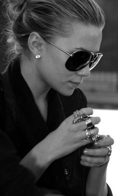 Beautiful And Luxurious,messy updo and aviators