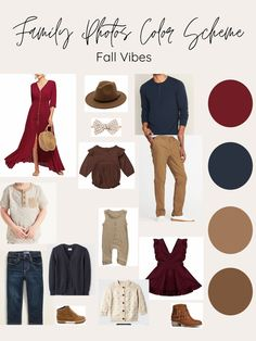 Fall Family Outfits- Styling for your Family Pictures Fall Family Picture Outfits, Christmas Pictures Outfits, Family Picture Colors, Summer Family Pictures, Family Photos What To Wear, Winter Family Photos, Family Picture Clothes, Colors For Family Pictures, Fall Photo Outfits