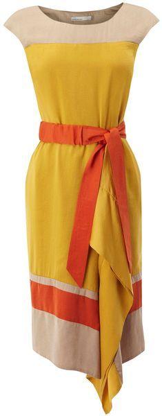 Soft colorful dress