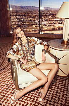 Alexandra De Claris bag - Hemispheres Magazine - March 2013