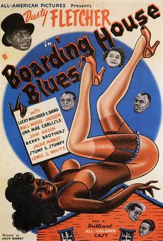 Boarding House Blues | 1948 by Black History Album, via Flickr