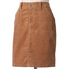 SONOMA life + style Modern Fit Corduroy Skirt