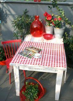 Garden - Furniture - Red