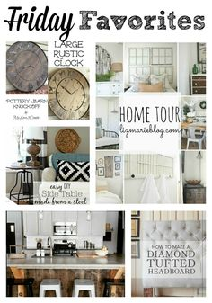 Beautiful Vintage Decor, Pottery Barn Knock off and amazing DIY projects!