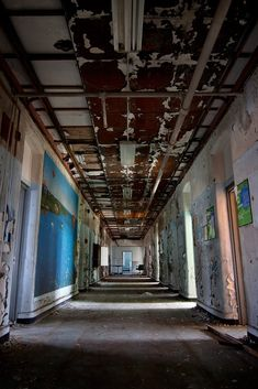 Float - Photo of the Abandoned Mentha State Hospital