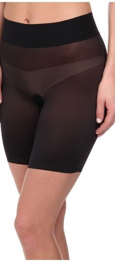 Wolford Sheer Touch Control Shorts (Black) Women's Lingerie - Wolford, Sheer Touch Control Shorts, 69620, Apparel Bottom Lingerie, Lingerie, Bottom, Apparel, Clothes Clothing, Gift, - Fashion Ideas To Inspire