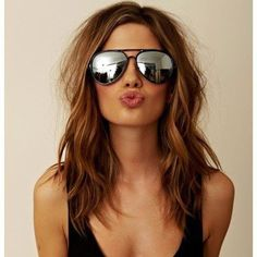 Gorgeous Shoulder Length Hairstyles to Try This Year (27)