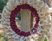 My Next Burlap Wreath