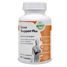 Liver Support Plus is an all-natural dietary supplement made in the US. It works synergistically to help liver detoxification support liver function and improve digestive health. Natural Liver Cleanse, Best Liver Detox, Liver Detox Diet, Cleanse Your Liver, Liver Detox Supplements, Liver Detoxification, Health World, Healthy Liver, Herbalism