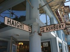 San Francisco's Haight Ashbury was the center of the city's counterculture movement in the 1960s and now has lots of funky vintage shops.