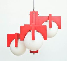 Socialist Design Ceiling Lamp / Chanedlier / by TheCuriousCaseShop