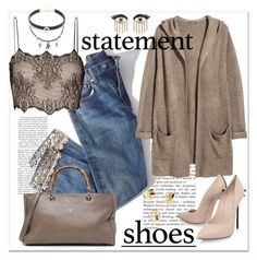 """Statetment shoes... Pumps..."" by nihal-imsk-cam on Polyvore featuring moda, Libertine, Brock Collection, Antonio Berardi, H&M, Jacquie Aiche, Sydney Evan ve Casadei"