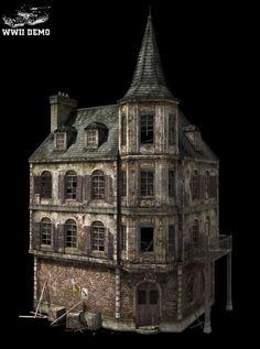 Middle Building by mitchGLADNEY on deviantART