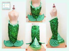 LITTLE MERMAID - Style & Handmade by ArtEcò Creazioni di Annalisa Benedetti #artecocreazioni #annalisabenedetti #littlemermaid #mermaid #theatercostume #costume #carnival #cosplay #fantasy