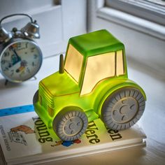 Tractor Night Light by TheLittleBoysRoom, the perfect gift for Explore more unique gifts in our curated marketplace. Boys Farm Bedroom, Tractor Bedroom, Tractor Nursery, Boy Toddler Bedroom, Baby Boy Rooms, Babies Nursery, Toddler Night Light, Can Lights, New Baby Products