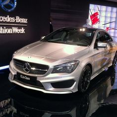 #2014 #Mercedes-Benz #CLA-Class #MBFW #NYFW #Instagram