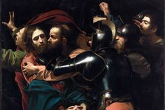 Confrontation Amid the Shadows by Willard Spiegelman, Aug 24, 2014 -- The picture, which since the early 1930s had hung in the Jesuits' dining room and had been dismissed as a copy of a lost original, was indeed by Caravaggio himself. It is now on indefinite loan to the Gallery.