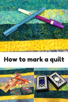Have you ever walked through a quilt show and felt the inspiration oozing out of the quilty masterpieces but have wondered how the quilter makes such incredible designs on the quilts? Well, many times the key to beautiful quilting is meticulous marking. Patchwork Quilting, Quilting Board, Quilt Stitching, Longarm Quilting, Free Motion Quilting, Quilting Tips, Quilting Tutorials, Quilts, Machine Quilting Patterns