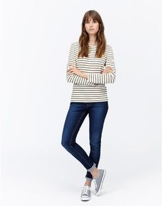 HARBOUR Women's Striped Jersey Top