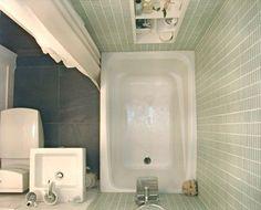 Несколько отличных идей обустройства маленькой ванной