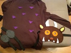 My Gruffalo costume :-)