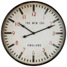 New Era Clock 91cm