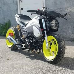 Honda Grom Custom, Honda Grom 125, Grom Bike, Motorcycle Dirt Bike, Buell Motorcycles, Honda Bikes, Moto Car, Custom Street Bikes, Scooter Custom