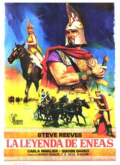 La leyenda de Eneas. Dirigida por G. Trivolta, 1962. Imagen en uso racional