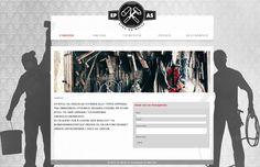 Dette er nettsiden til EP Bygg og Maler. De bruker Idium Web+.