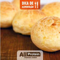 Como fazer pao de queijo proteico e low carb!