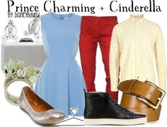 modern day prince charming and cinderella outfits