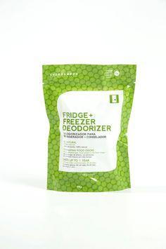 Fridge + Freezer Deodorizer (150 g) - Eliminating food odors, Absorbs ethylene gas (helps produce stay fresh longer)