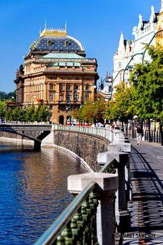 Praag - Nationaal Theater