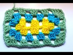 ▶ How to #Crochet a granny Rectangle - YouTube